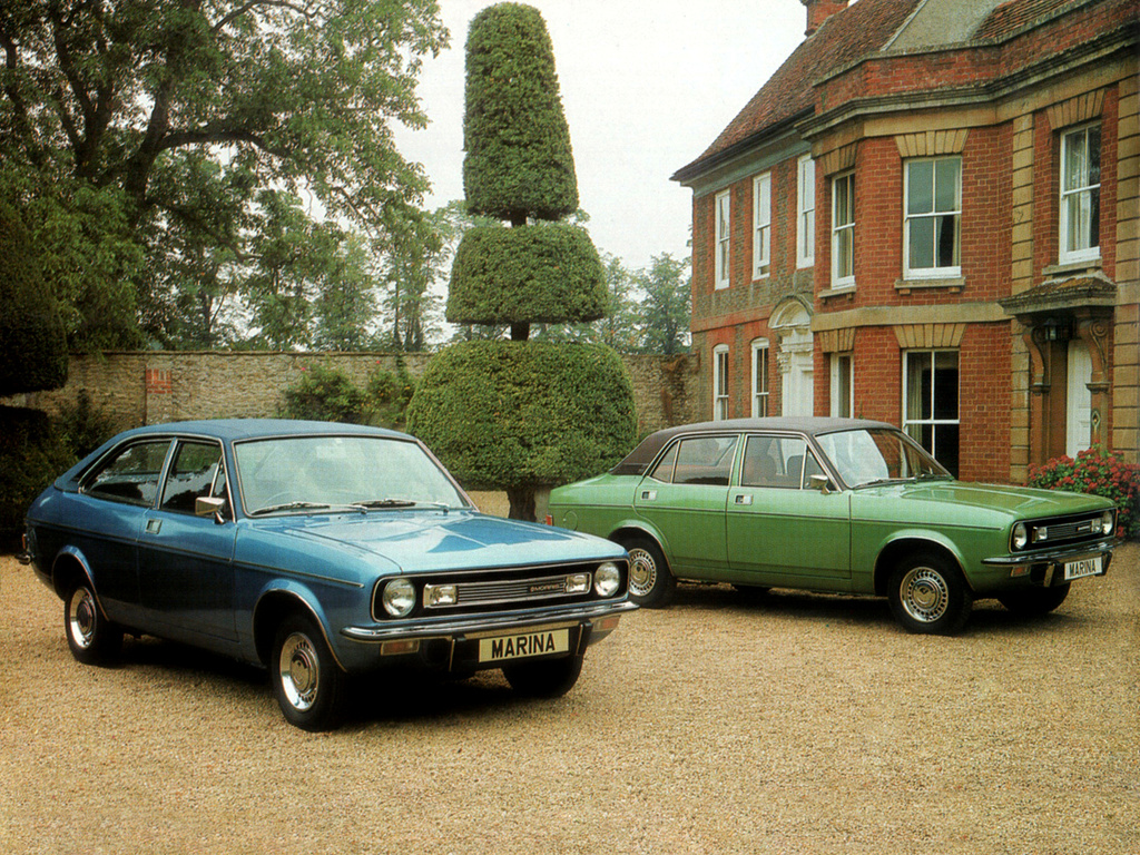 The cars : Morris Marina development story
